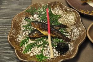 虹鱒の甘露煮